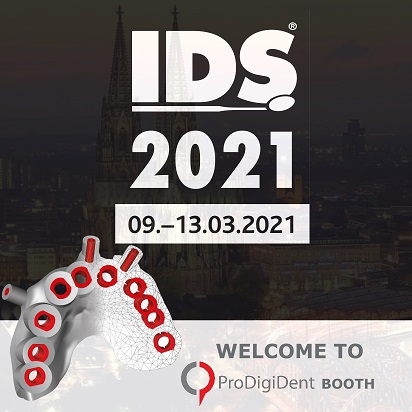 ProDigiDent на 39 International Dental Show IDS, 9-13 марта 2021